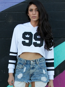 Cropped Hockey Jersey - Urban Empire