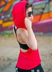 Backless Hoodie - Urban Empire