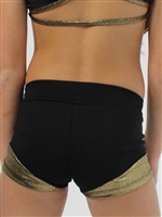 Contrast Bottom Dance Shorts - Instudio Wear