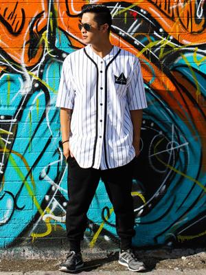 Shop Urban Empire Button Baseball Jersey Online