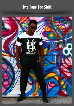 Two Tone Tee Shirt - Urban Empire